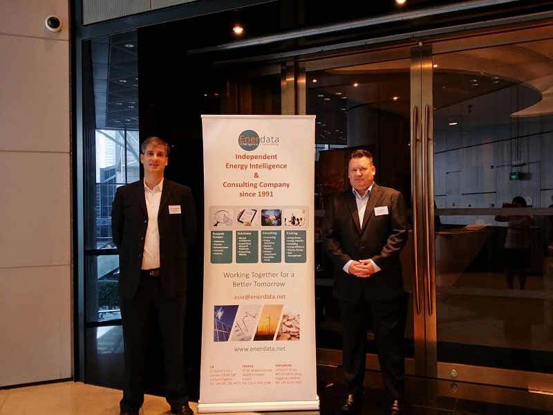 Enerdata and JYD at Energy Seminar in Singapore