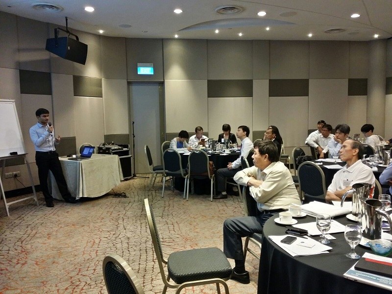 Enerdata Presentation at Energy Seminar in Singapore