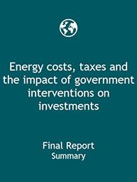 EC energy costs, taxes