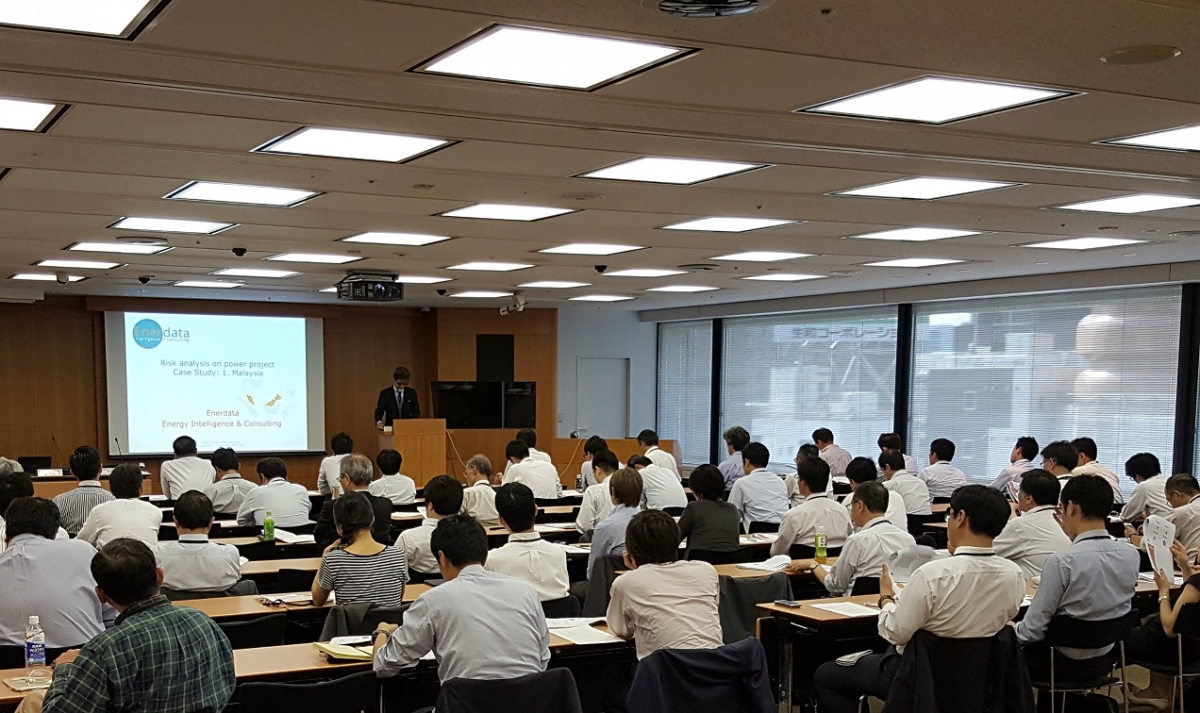Enerdata Power & Gas Risk Methodology Seminar in Japan