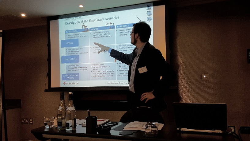 Presentation of Enerdata Energy Scenarios in London
