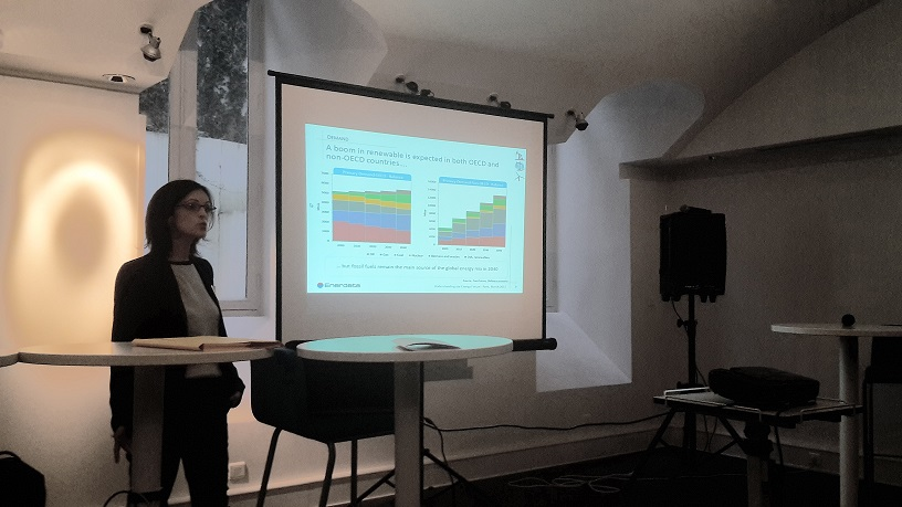 Presentation of Enerdata Energy Scenarios in Paris