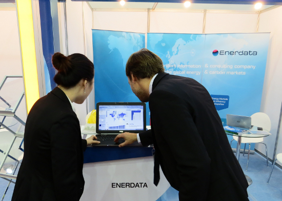 Enerdata in WEC 2013 in South Korea