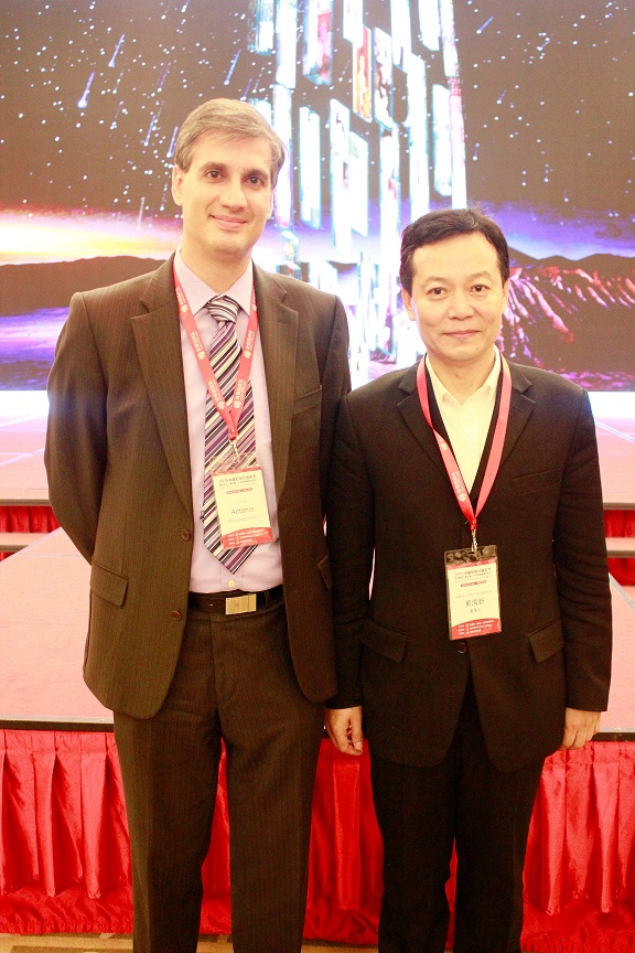 With JYD CEO Mr. Haixin HUANG
