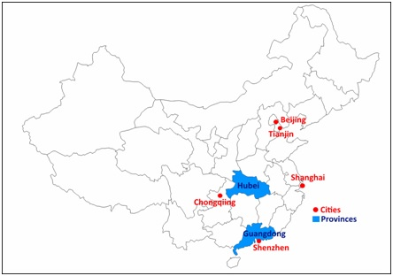 Current carbon trading pilot schemes in China