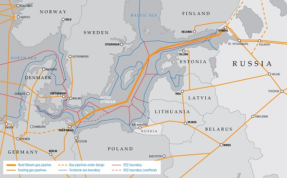 Gazprom and European partners to build Nord Stream 2 by 2020